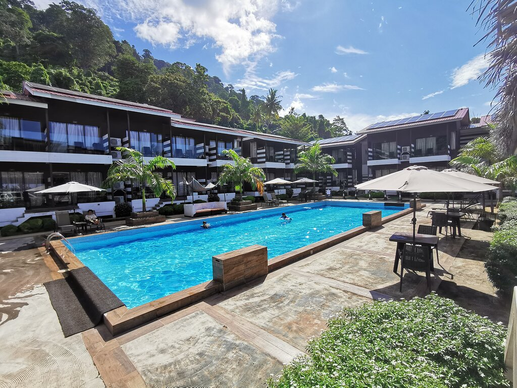 The Barat Tioman Beach Resort Swimming Pool